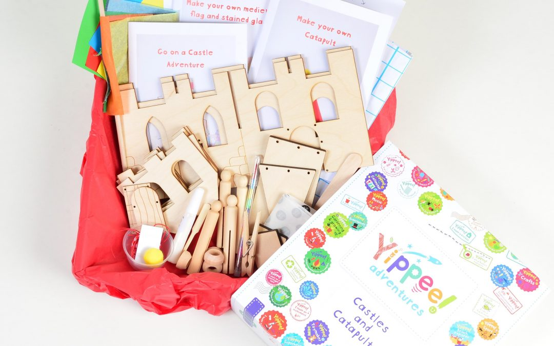 Castles and Catapults Activity Box