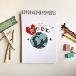 Children's Travel Journal (Time to Travel)