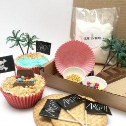 Pirate Treasure Cupcake Baking Kit