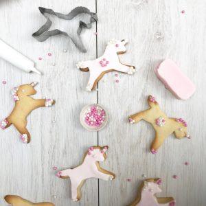 unicorn biscuit baking