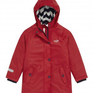 fleece line waterproof jacket - red