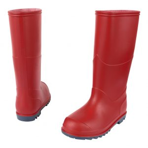 childrens wellies - red
