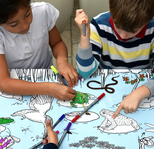 insect learning tablecoth