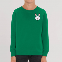Kids Cotton Bunny Sweatshirt