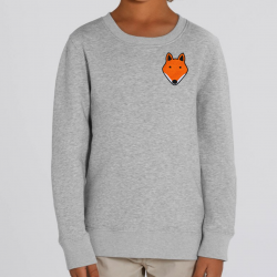 Kids Cotton Fox Sweatshirt