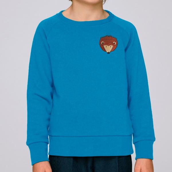 Kids hedgehog sweatshirt