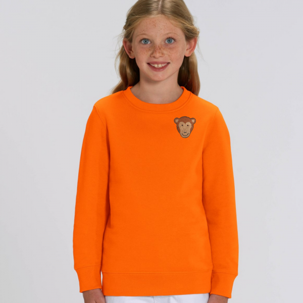 kids organic cotton sweatshirt
