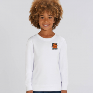 kids organic cotton sweatshirt