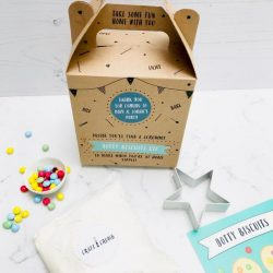 Dotty Biscuits Party Bag with Star Cutter