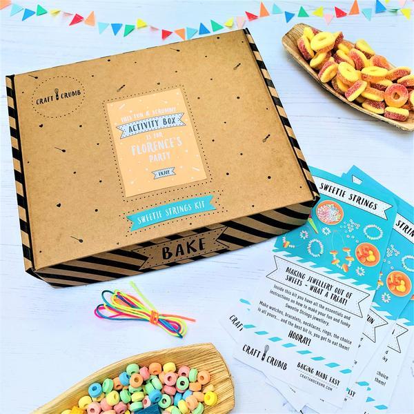 Sweetie strings party kit