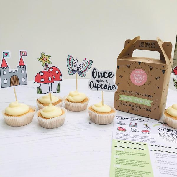 Fairytale cupcake kit