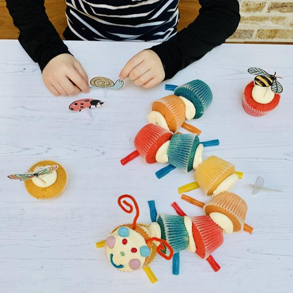 caterpillar cake kit