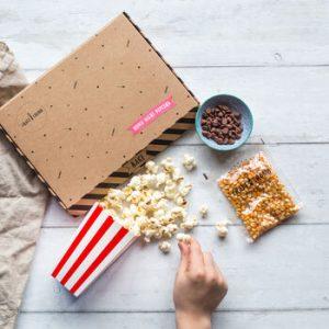 movie night popcorn kit