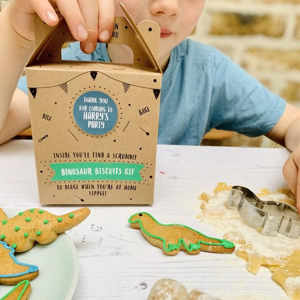 Dinosaur Biscuit Kit