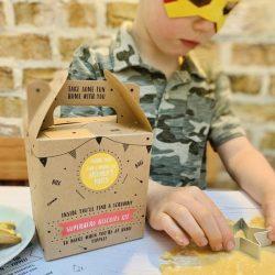 Superhero Biscuit Kit Party Bag