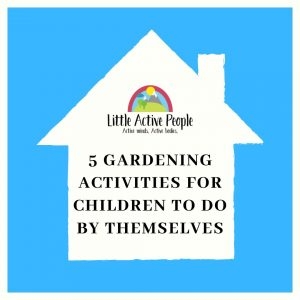 free gardening activities for children