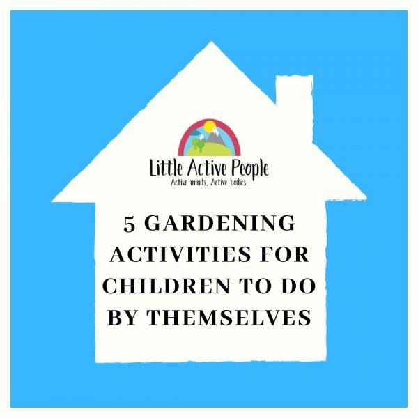 free gardening activities for children