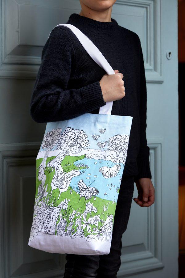 children's cotton tote bag