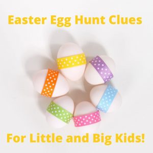 Easter Egg Hunt Clues Pack