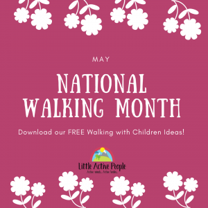 national walking month ideas