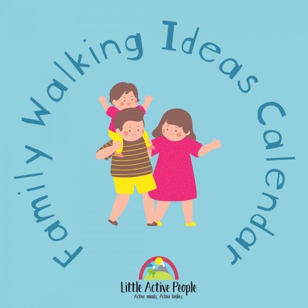family walking ideas calendar