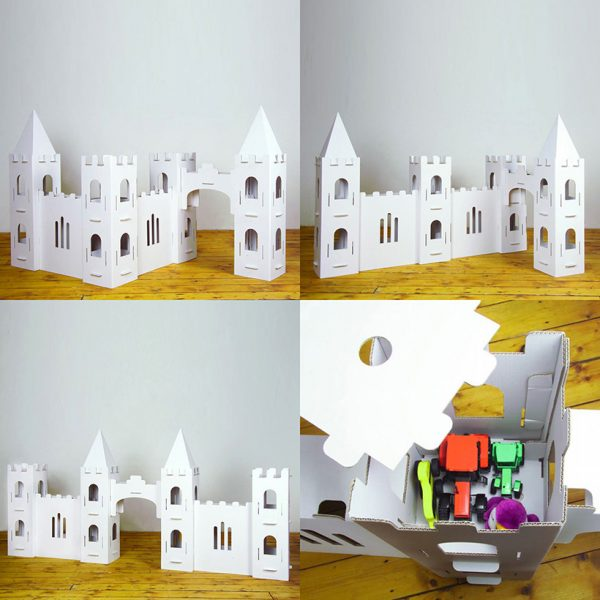 build and colour knights castle