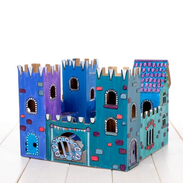 build and colour castle