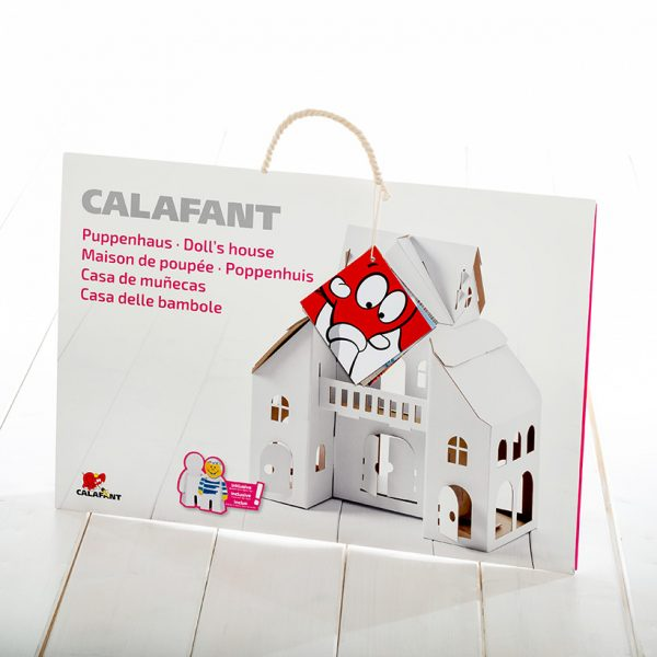 build and colour dolls house