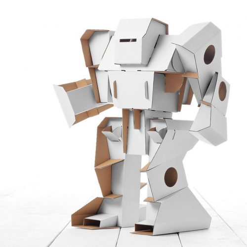 Build and colour robot