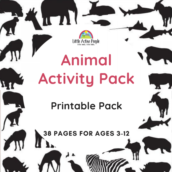 downloadable animal activity pack