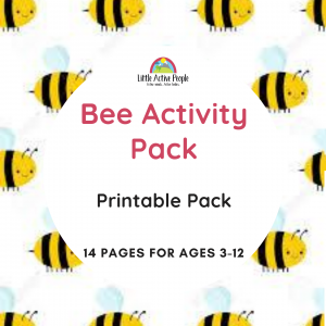 downloadable bee activity pack