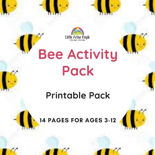 downloadable bee activity pack