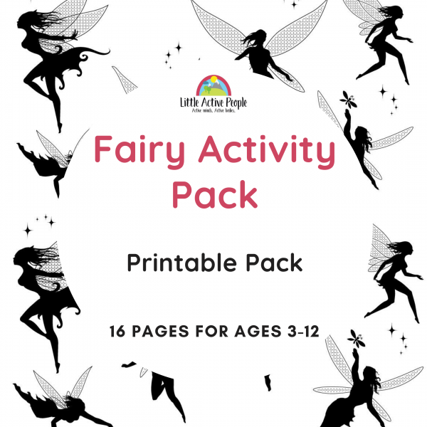 downloadable fairy activity pack