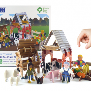 farmyard eco friendly toy playset