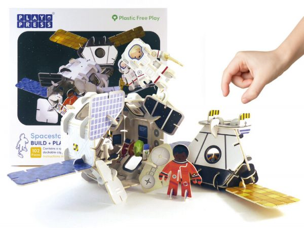 Space Station Eco Friendly Playset