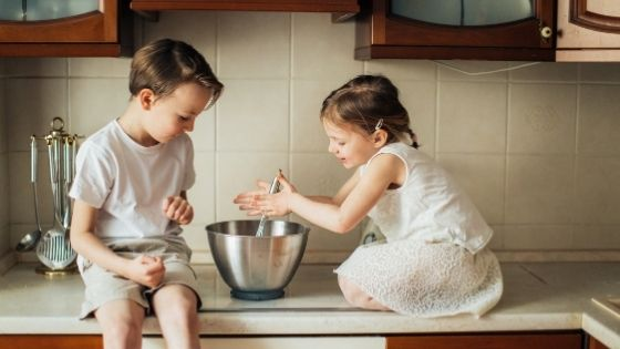 Benefits of Baking with Children