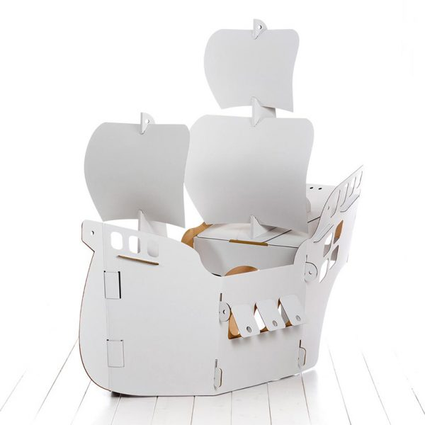 Build and Colour Pirate Ship