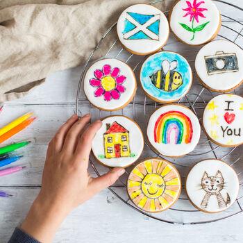 art class biscuit kit
