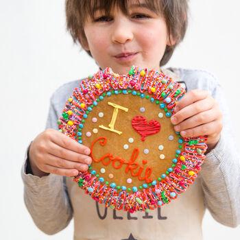 giant cookie children's baking kit