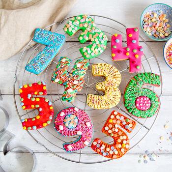 big birthday biscuit baking kit