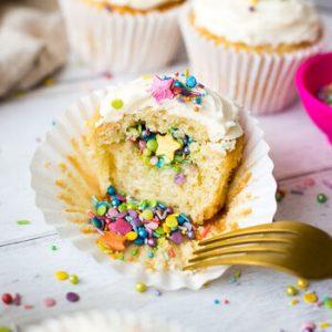 rainbow pinata cupcake kit