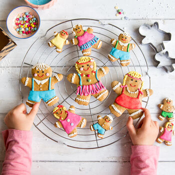 dolly biscuit baking and craft kit