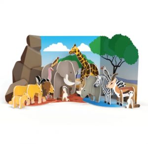 Safari Animals Pop Out