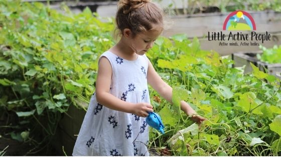 10 Gardening Activities for children