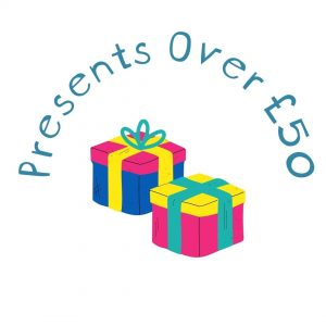 Presents Over £50