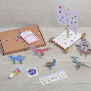Make your own wind car activity box
